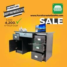 WFH Six (6) Storage Work/ Home Office Desk